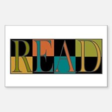 Read - 2 Sticker (Rectangle)