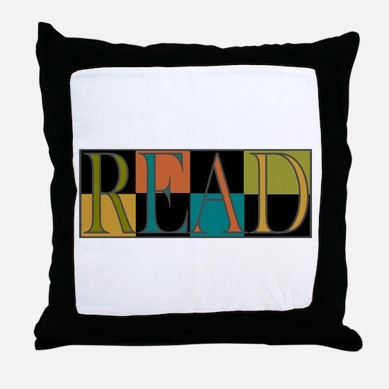 Read - 2 Throw Pillow