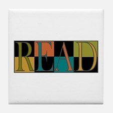 Read - 2 Tile Coaster