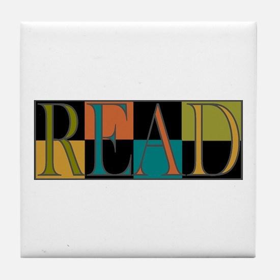 Read - 2 Tile Coaster