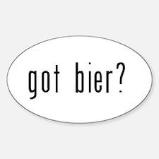 got bier? Decal