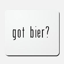 got bier? Mousepad