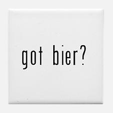 got bier? Tile Coaster