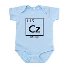 Elemental cheese Infant Bodysuit