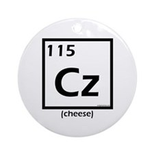 Elemental cheese Ornament (Round)