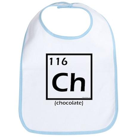 Elemental chocolate Bib