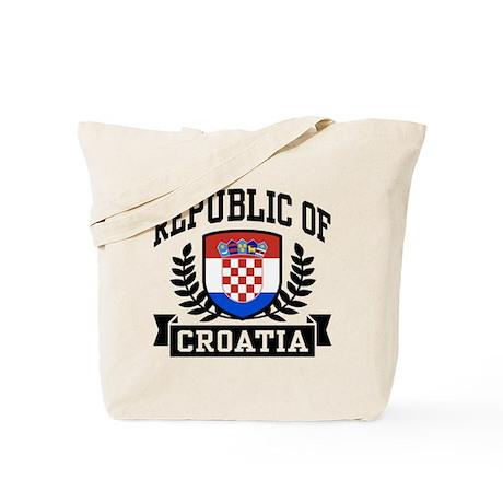 Republic of Croatia Tote Bag