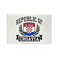 Republic of Croatia Rectangle Magnet