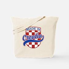 Made In Croatia Tote Bag