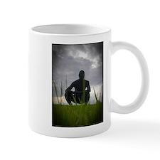 Black Zentai in the Field 3 Mug