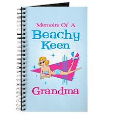 Beachy Keen Grandma Journal