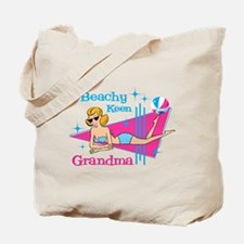 Beachy Keen Grandma Tote Bag