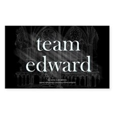 Team Edward Gothic Decal