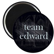 "Team Edward Gothic 2.25"" Magnet (100 pack)"