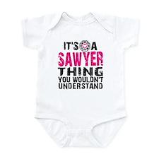 Sawyer Thing Onesie