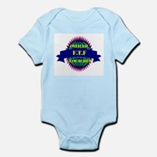 FTF Purple/ White Infant Creeper