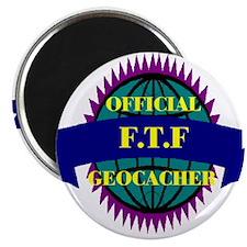 """FTF Purple/ White 2.25"""" Magnet (10 pack)"""