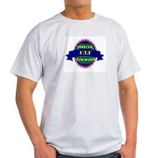 FTF Purple/ White Ash Grey T-Shirt