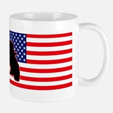 Canadian-US Mini flag Mug