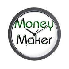 Money maker Wall Clock