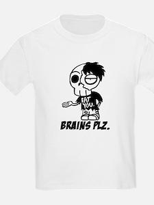 Zombie Brains Plz Kid T