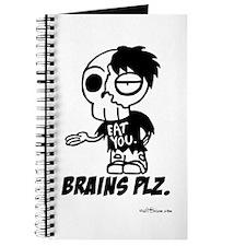 Zombie Brains Plz Journal