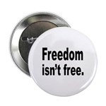 Freedom Isn't Free Quote Button