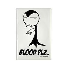 Blood Plz Magnet