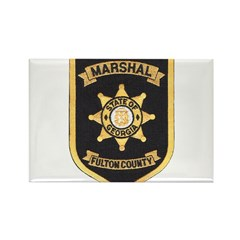 Fulton County Marshal Rectangle Magnet