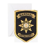 Fulton County Marshal Greeting Card