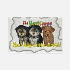 Unique Yorkiepoo Rectangle Magnet (100 pack)