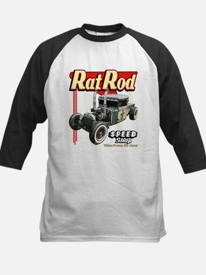 Rat Road Speed Shop - Pipes Kids Baseball Jersey