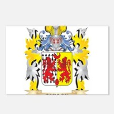 Quinlan Family Crest - Co Postcards (Package of 8)