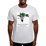 My Heart Beet's Ash Grey T-Shirt