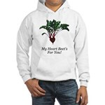 My Heart Beet's Hooded Sweatshirt