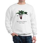 My Heart Beet's Sweatshirt