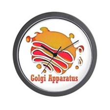Golgi Olgi Original Art Wall Clock
