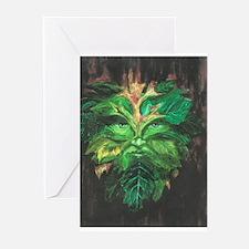 Green Man Greeting Cards (Pk of 10)
