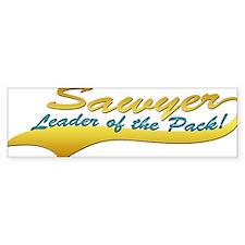 Sawyer's Pack Bumper Sticker