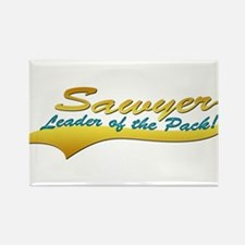 Sawyer's Pack Rectangle Magnet