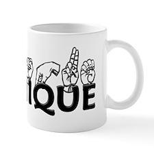 Monique-blk Small Mug