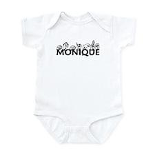 Monique-blk Infant Bodysuit