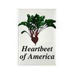 Heartbeet of America Rectangle Magnet