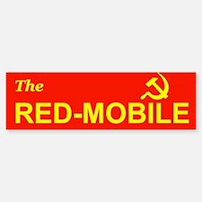 The Red-Mobile Bumper Bumper Bumper Sticker