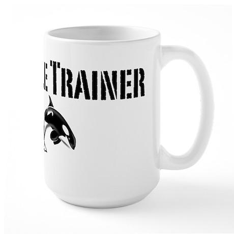 Whale Trainer Light Large Mug