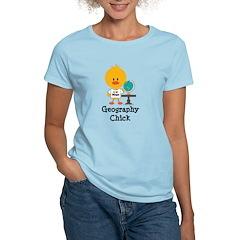 Geography Chick Women's Light T-Shirt