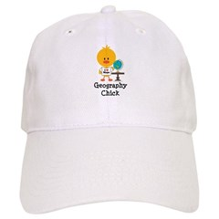 Geography Chick Cap
