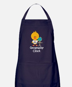 Geography Chick Apron (dark)