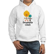 Geography Chick Hoodie