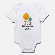 Geography Chick Onesie